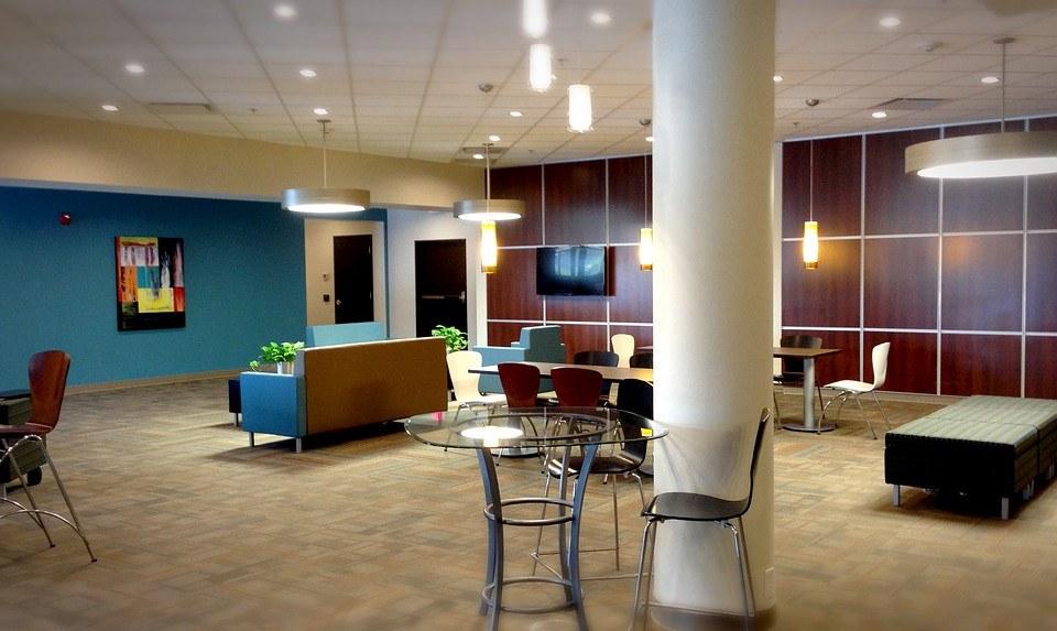 Biuro w stylu Bauhaus