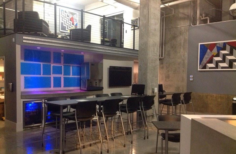 Biuro w stylu designerskim